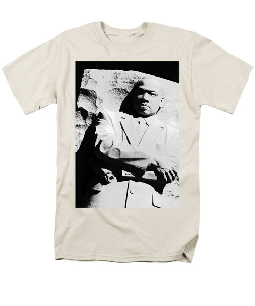 Men's T-Shirt  (Regular Fit) featuring the photograph Martin Luther King Memorial by Cora Wandel