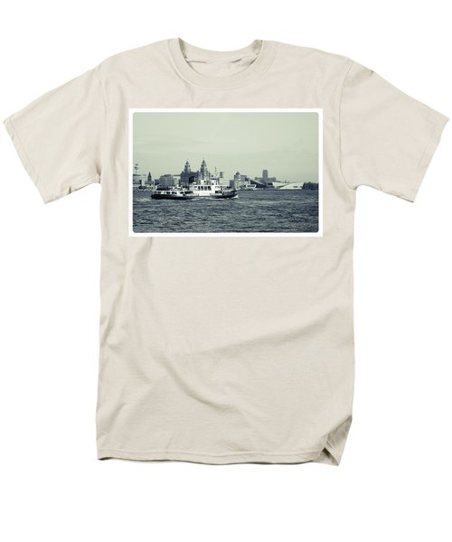 Mersey Ferry Men's T-Shirt  (Regular Fit) by Spikey Mouse Photography