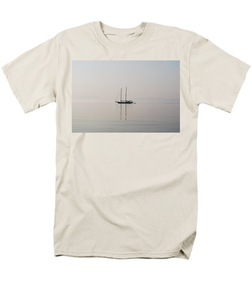 Men's T-Shirt  (Regular Fit) featuring the photograph Morning Mist by George Katechis