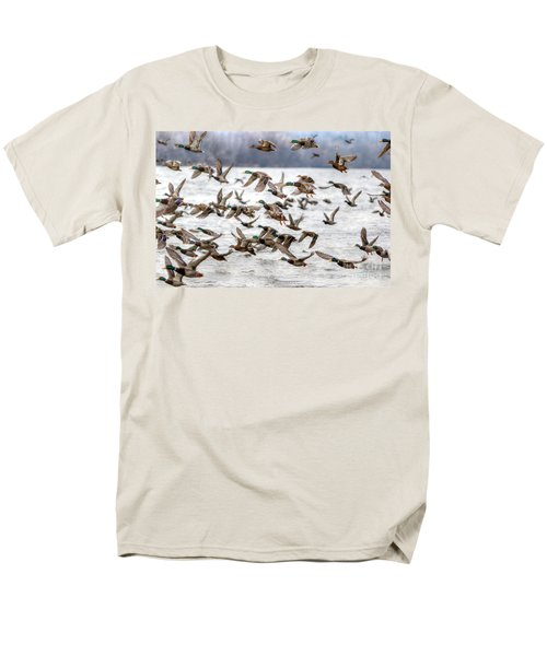 Men's T-Shirt  (Regular Fit) featuring the photograph One Direction by Robert Pearson