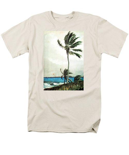 Palm Tree Nassau Men's T-Shirt  (Regular Fit) by Celestial Images
