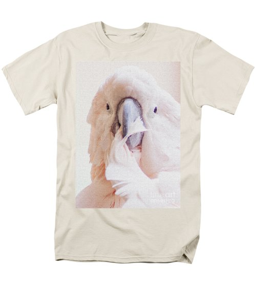 Men's T-Shirt  (Regular Fit) featuring the photograph Parrot Flair by Roselynne Broussard
