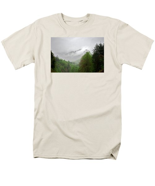 Smoky Mountains Men's T-Shirt  (Regular Fit) by Lawrence Boothby