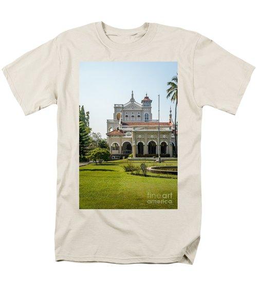 The Aga Khan Palace Men's T-Shirt  (Regular Fit) by Kiran Joshi