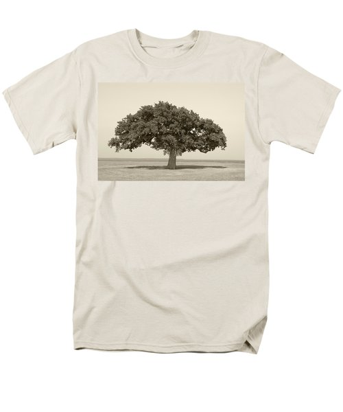 The Lonely Tree Men's T-Shirt  (Regular Fit) by Charles Beeler