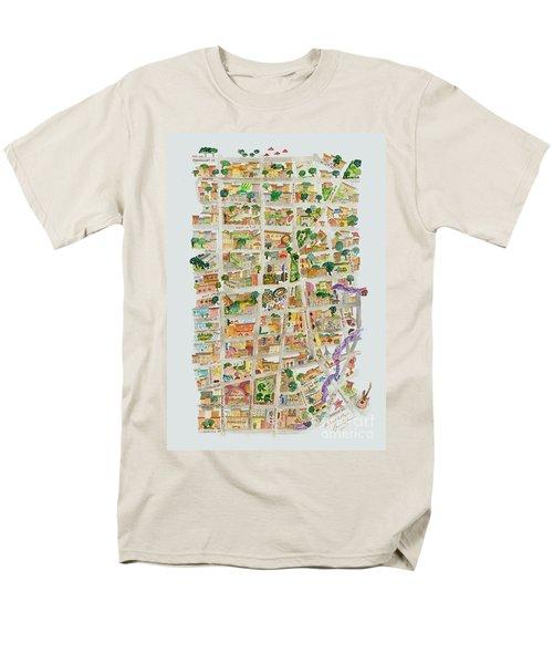 The Way West Village Men's T-Shirt  (Regular Fit) by AFineLyne
