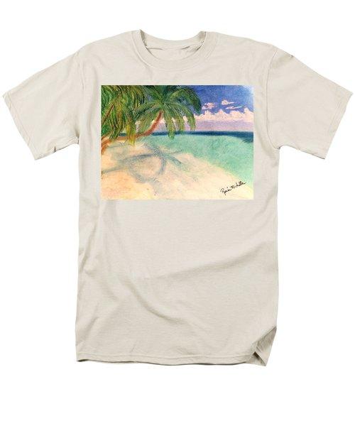 Tropical Shores Men's T-Shirt  (Regular Fit) by Renee Michelle Wenker