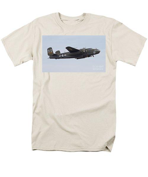 Vintage World War II Bomber Men's T-Shirt  (Regular Fit) by Kevin McCarthy