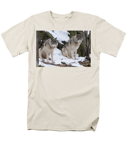 Timber Wolves Men's T-Shirt  (Regular Fit) by Wolves Only