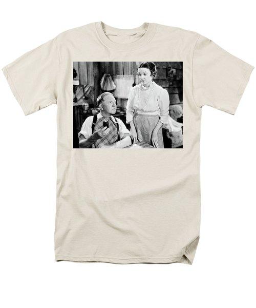 Men's T-Shirt  (Regular Fit) featuring the photograph W.c. Fields by Granger