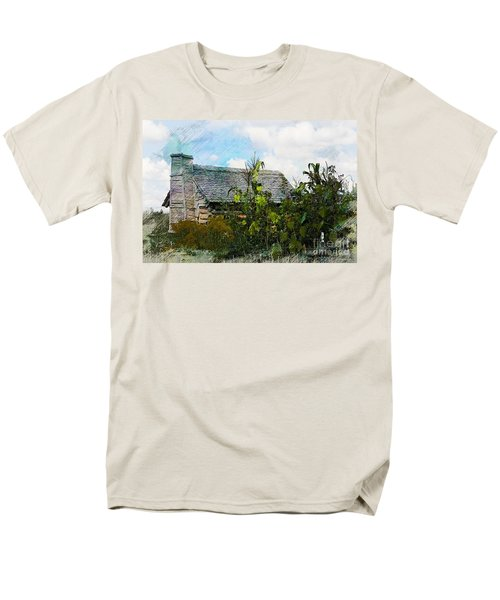 Men's T-Shirt  (Regular Fit) featuring the photograph 1810 Living by Robert Pearson