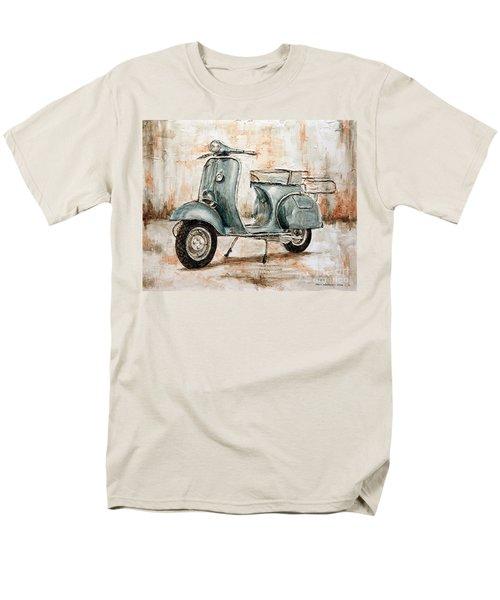 1959 Douglas Vespa Men's T-Shirt  (Regular Fit) by Joey Agbayani