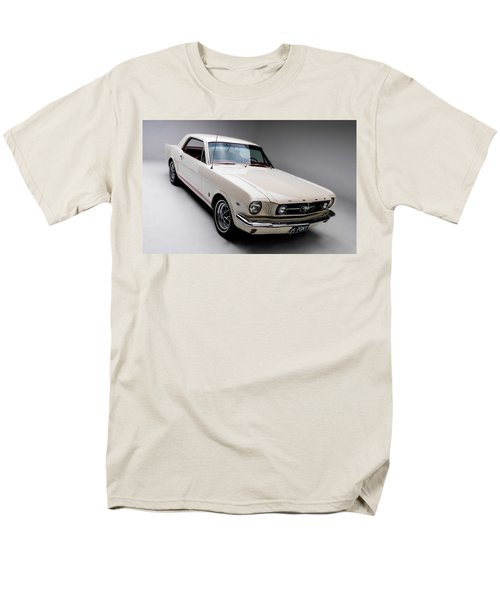 Men's T-Shirt  (Regular Fit) featuring the photograph 1966 Gt Mustang by Gianfranco Weiss
