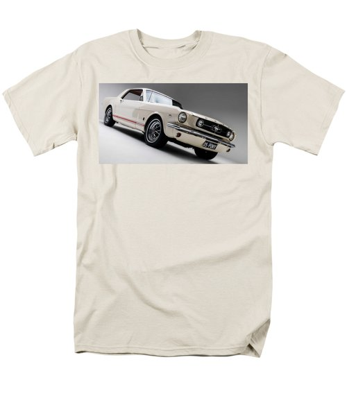 Men's T-Shirt  (Regular Fit) featuring the photograph 1966 Mustang Gt by Gianfranco Weiss