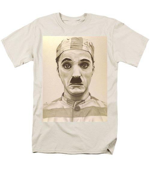 Vintage Charlie Chaplin Men's T-Shirt  (Regular Fit) by Fred Larucci