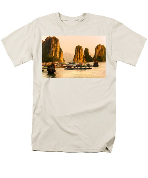 Halong Bay - Vietnam Men's T-Shirt  (Regular Fit) by Luciano Mortula