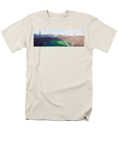 High Angle View Of Spectators Men's T-Shirt  (Regular Fit) by Panoramic Images