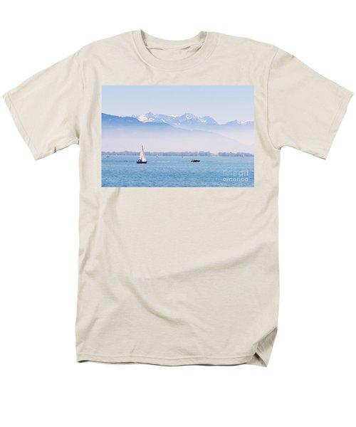 Lake Of Constance Men's T-Shirt  (Regular Fit) by Nick  Biemans