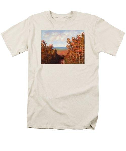 Mountain View Men's T-Shirt  (Regular Fit) by Jason Williamson