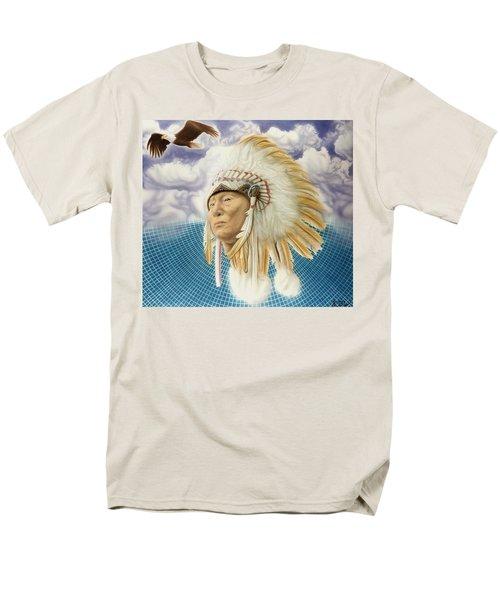 Proud As An Eagle Men's T-Shirt  (Regular Fit) by Rich Milo
