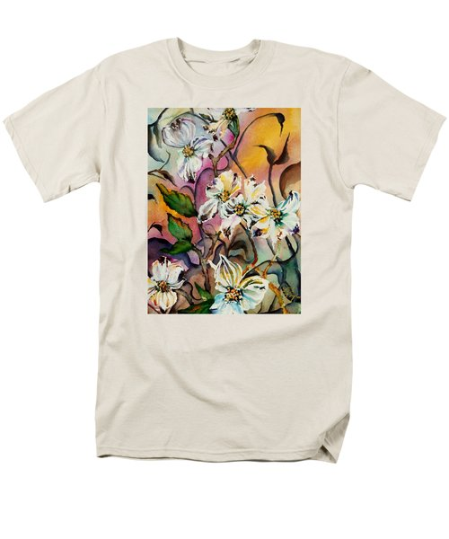 Dance Of The Dogwoods Men's T-Shirt  (Regular Fit) by Lil Taylor