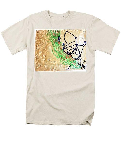 Mama Dinka - South Sudan Men's T-Shirt  (Regular Fit) by Gloria Ssali