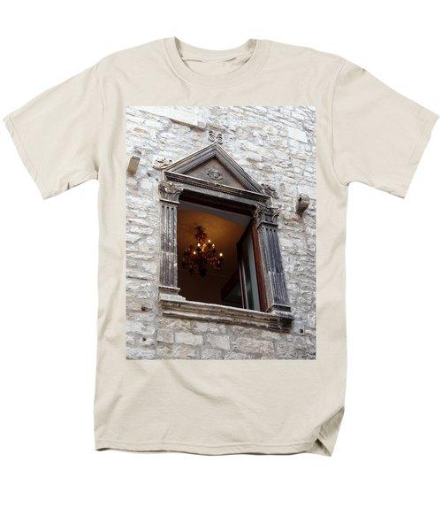 Views Of Split Croatia Men's T-Shirt  (Regular Fit) by Richard Rosenshein