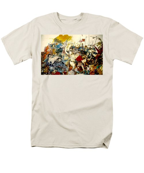 Battle Of Grunwald Men's T-Shirt  (Regular Fit) by Henryk Gorecki