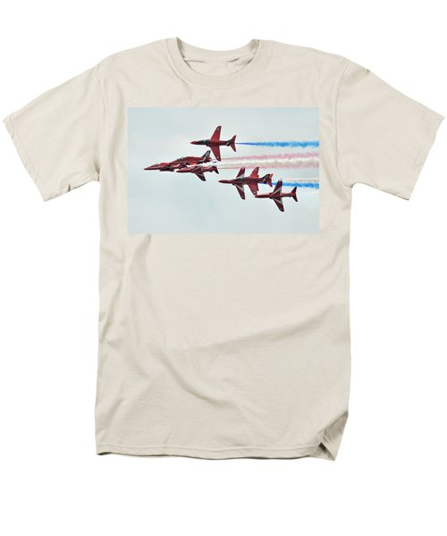 50th Anniversary 'red Arrows' Men's T-Shirt  (Regular Fit) by Tim Beach