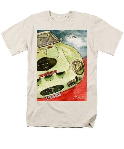 62 Ferrari 250 Gto Signed By Sir Stirling Moss Men's T-Shirt  (Regular Fit)