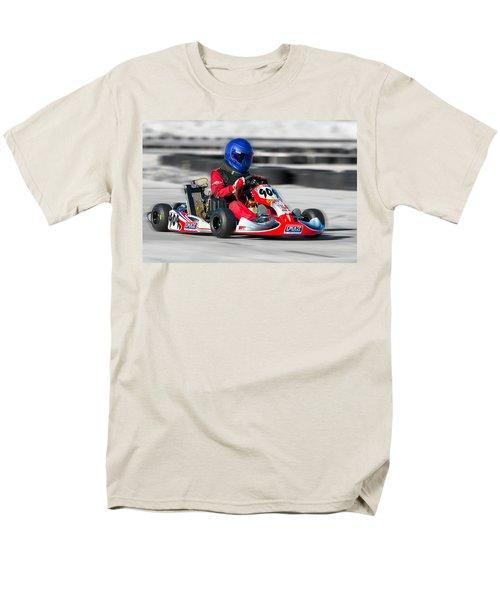 Racing Go Kart Men's T-Shirt  (Regular Fit) by Gunter Nezhoda