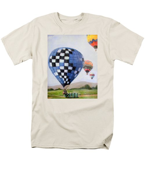 A Balloon Disaster Men's T-Shirt  (Regular Fit) by Donna Tucker