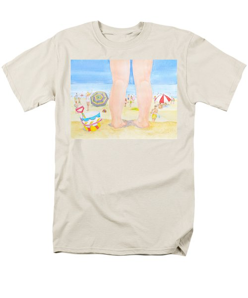 A Child Remembers The Beach Men's T-Shirt  (Regular Fit) by Michele Myers