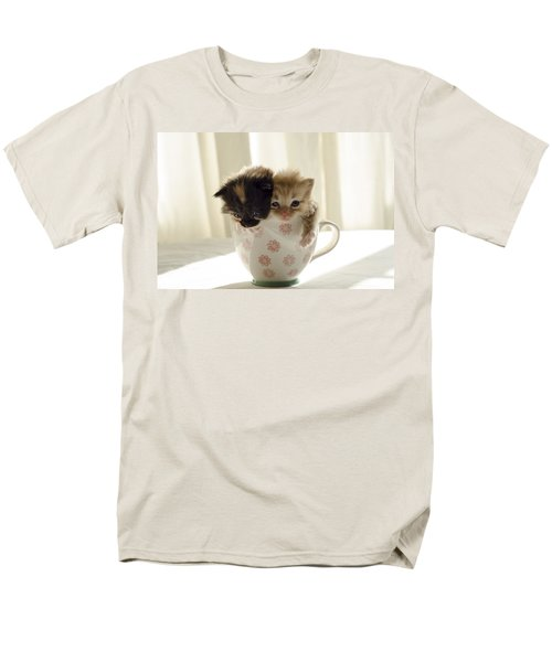 A Cup Of Cuteness Men's T-Shirt  (Regular Fit) by Spikey Mouse Photography