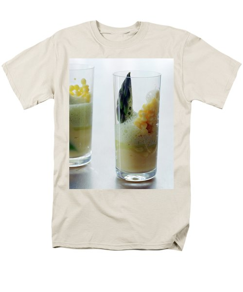A Drink With Asparagus Men's T-Shirt  (Regular Fit) by Romulo Yanes