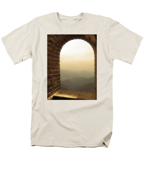 Men's T-Shirt  (Regular Fit) featuring the photograph A Great View Of China by Nicola Nobile