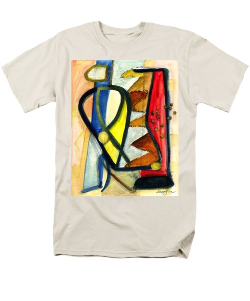 Men's T-Shirt  (Regular Fit) featuring the painting A Perfect Image by Stephen Lucas