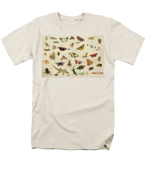 A Study Of Insects Men's T-Shirt  (Regular Fit) by Jan Van Kessel