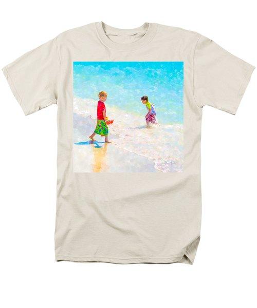 A Summer To Remember V Men's T-Shirt  (Regular Fit) by Susan Molnar