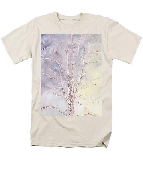 A Tree In Winter Men's T-Shirt  (Regular Fit)