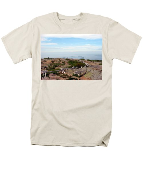 A Walk On The Mountain Men's T-Shirt  (Regular Fit) by Judith Morris