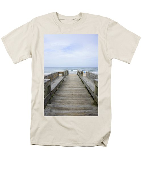 Men's T-Shirt  (Regular Fit) featuring the photograph A Welcoming View by Laurie Perry