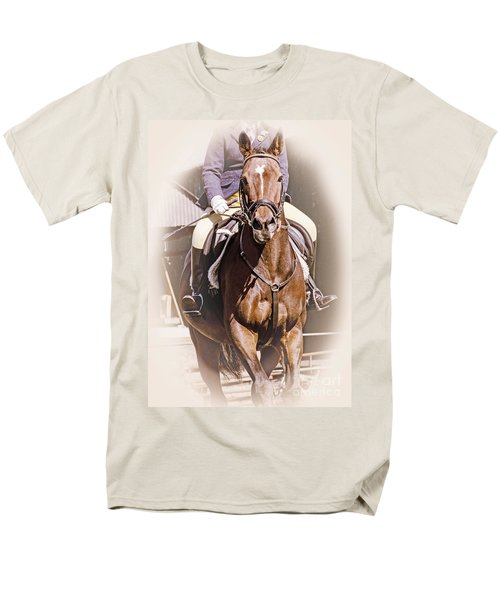 Men's T-Shirt  (Regular Fit) featuring the photograph A Willing Servant by Linsey Williams
