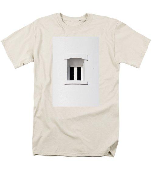 A Window In White Men's T-Shirt  (Regular Fit) by Wendy Wilton