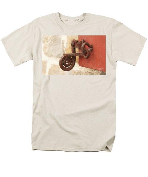 A Window Latch Men's T-Shirt  (Regular Fit) by Kerri Mortenson