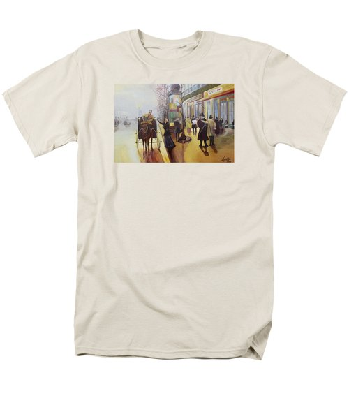 Acrylic Msc 178  Men's T-Shirt  (Regular Fit) by Mario Sergio Calzi