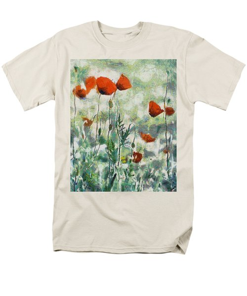 Men's T-Shirt  (Regular Fit) featuring the painting Affection by Joe Misrasi
