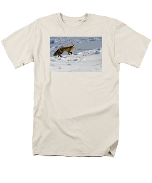 Against The Glare-signed Men's T-Shirt  (Regular Fit) by J L Woody Wooden