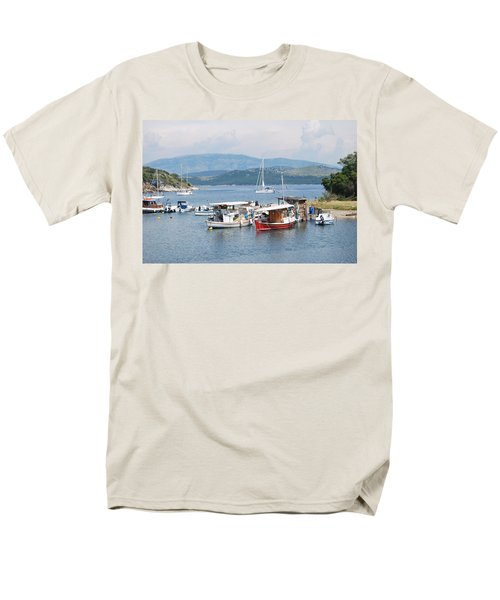 Agios Stefanos Men's T-Shirt  (Regular Fit) by George Katechis