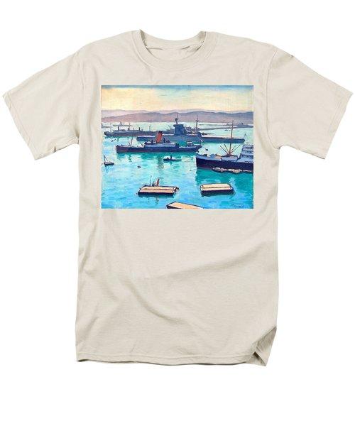 Albert In The Window Men's T-Shirt  (Regular Fit) by Ira Shander